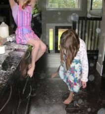 Flour Play ~ Creating Memories through Simple, Spontaneous Fun