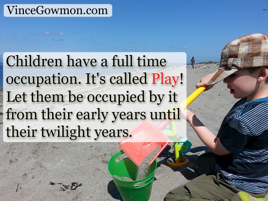Playful Quotes for the Child in your Heart | Vince Gowmon