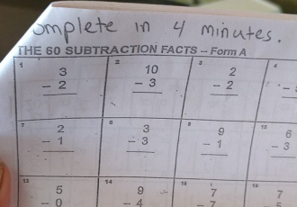 How Timed Math Worksheets Cause Anxiety and Erode Learner Confidence