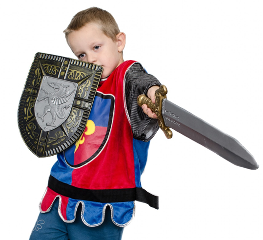 The Wisdom of Giving Your Child a Sword to Play With Instead of a Gun