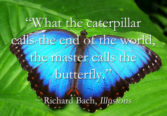 From Caterpillar to Butterfly: Quarantine is Humanity's Necessary Metamorphic Time in the Chrysalis